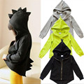 Spring Autumn Children outerwear coat sporty kids jackets fashion boys jackets coats Dinosaur Hoodead