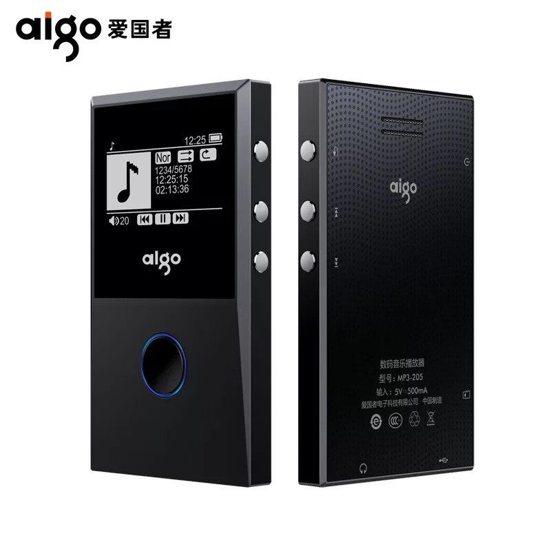 Aigo 205 MP3 HiFI Loseless Bluetooth Player Portable FM Radi