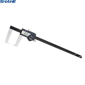 0-300 mm vernier caliper stainless steel Digital Outside Groove Caliper with Flat Points digital vernier calipers 300 mm
