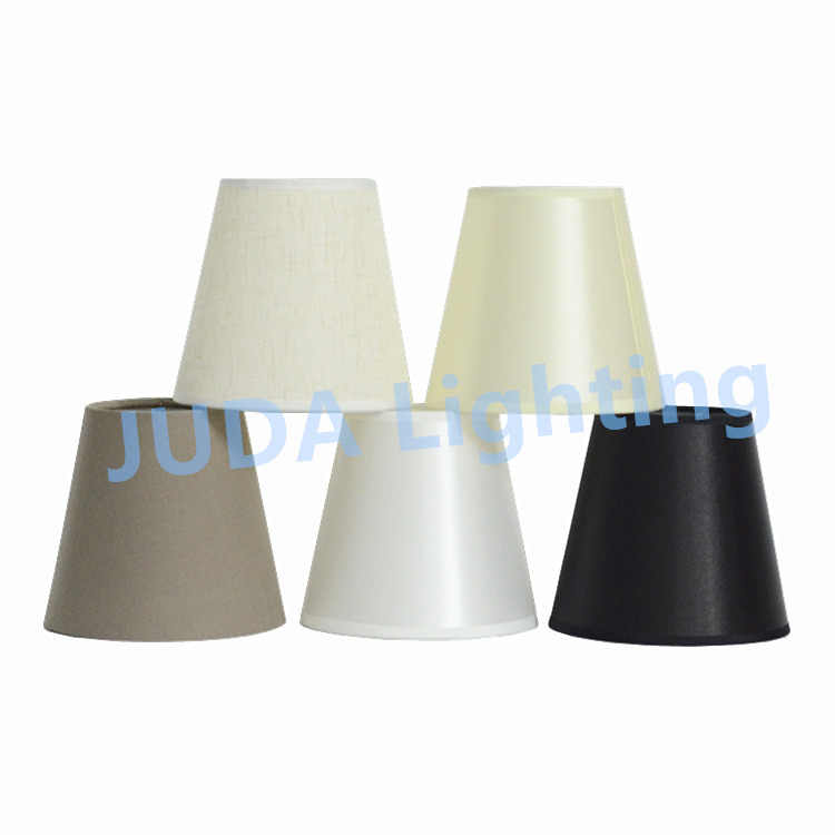 Modern chandelier lampshade light covers for E14 led bulbs lamp cover black white led pendant light lampshade decorative lights