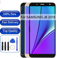 J600 LCD For SAMSUNG Galaxy J6 2018  J600F Display touch screen for samsung j600f lcd
