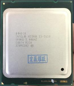 Image 1 - Bộ Vi Xử Lý Intel Xeon E5 2650 E5 2650 CPU 2.0 LGA 2011 SROKQ C2 Octa Core Máy Tính Để Bàn Bộ vi xử lý 100% làm việc bình thường