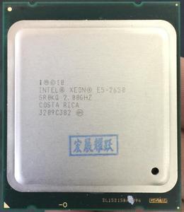 Image 1 - Intel Xeon Processor E5 2650  E5 2650  CPU 2.0 LGA 2011 SROKQ C2 Octa Core Desktop processor 100% normal work