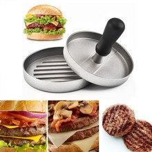 Тяжелый пресс для формирования котлет мясо для гамбургеров гриль для говядины Пэтти чайник Плесень мясо для гамбургеров гриль для говядины пресс для бургеров барбекю пресс-форма для кухни