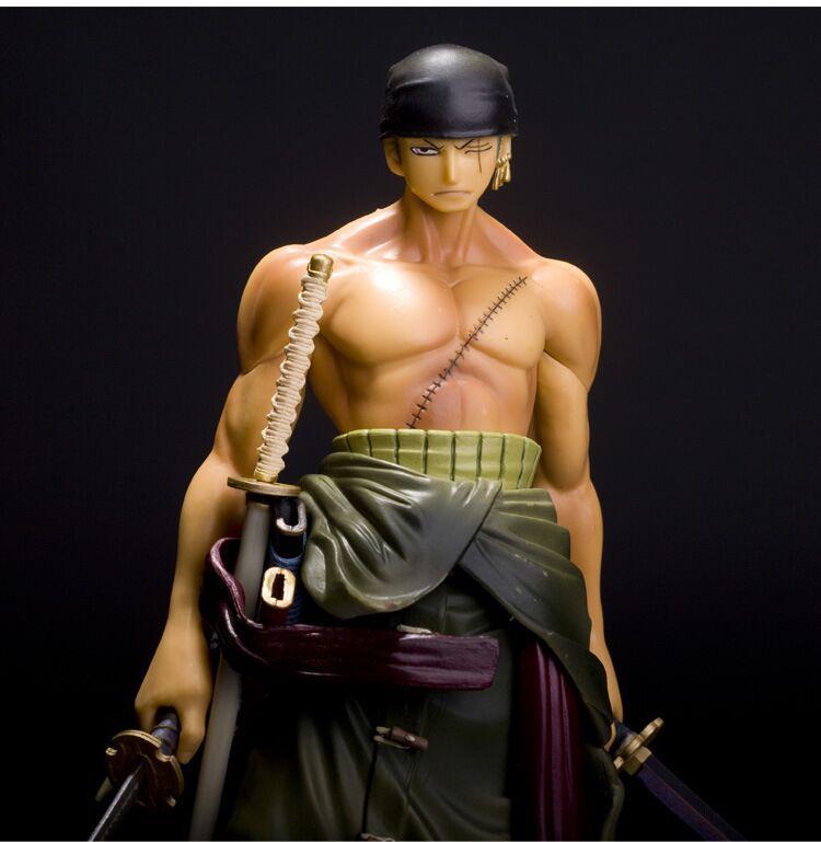 Anime One Piece Roronoa Zoro Action Figure   26cm