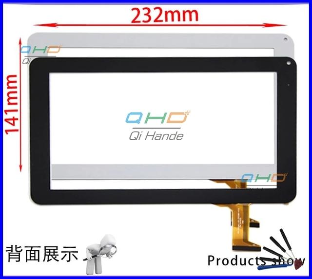 Original 9 ''pulgadas tablet PC de pantalla táctil HN-0926A1-PG-FPC080-V3.0 pantalla externa pantalla de la capacitancia Envío Libre