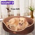 Doble cara disponibles todas las estaciones de gran tamaño extra grande perro casa Cama sofá perrera suave de lana de perro mascota gato cálido la cama s-xl