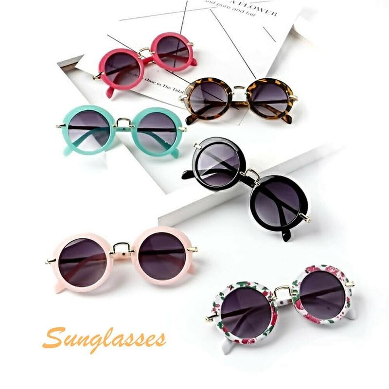 2019 ANTI-UV Sunglasses Summer Kids Baby Retro Beach Accessories Boys Girls Fashion Toys Outdoor Beach Wear Accessories For Eye