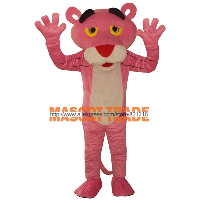Free shipping Mascot costume pink panther cartoon clothing mascot Costume
