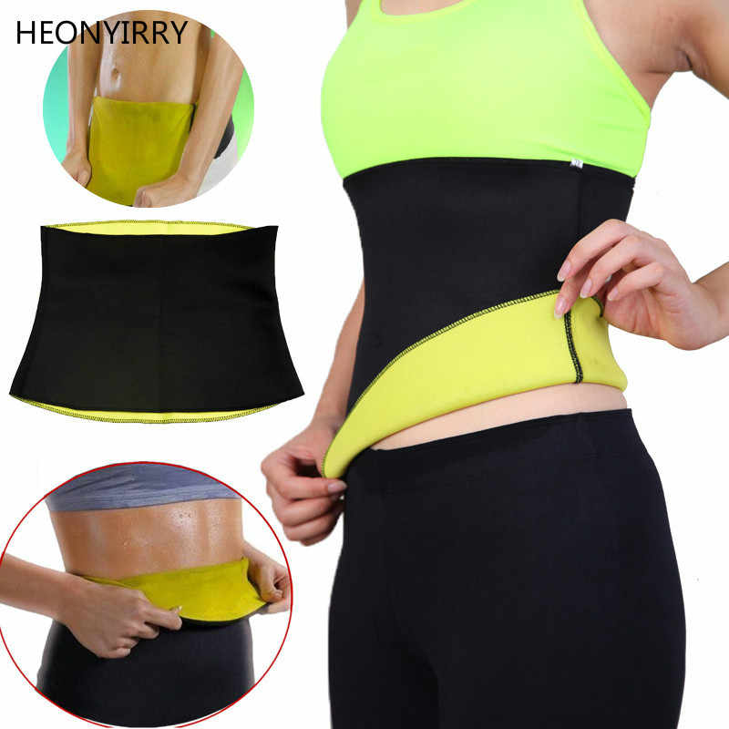 1f4eec2e5f Elastic Belly Trainer Slimming Waist support Hot Shapers Tummy Cinchers  Body Shaper Waist Corsets Bodysuit Sweat