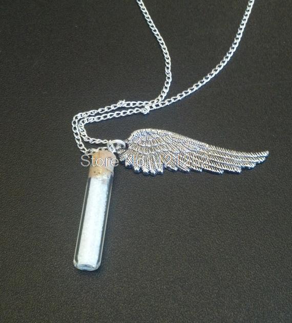 9cbcf14a0f 12 pcs anjo graça proteção Supernatural colar de garrafa sal em Pingente  Colares de Jóias & Acessórios no AliExpress.com | Alibaba Group