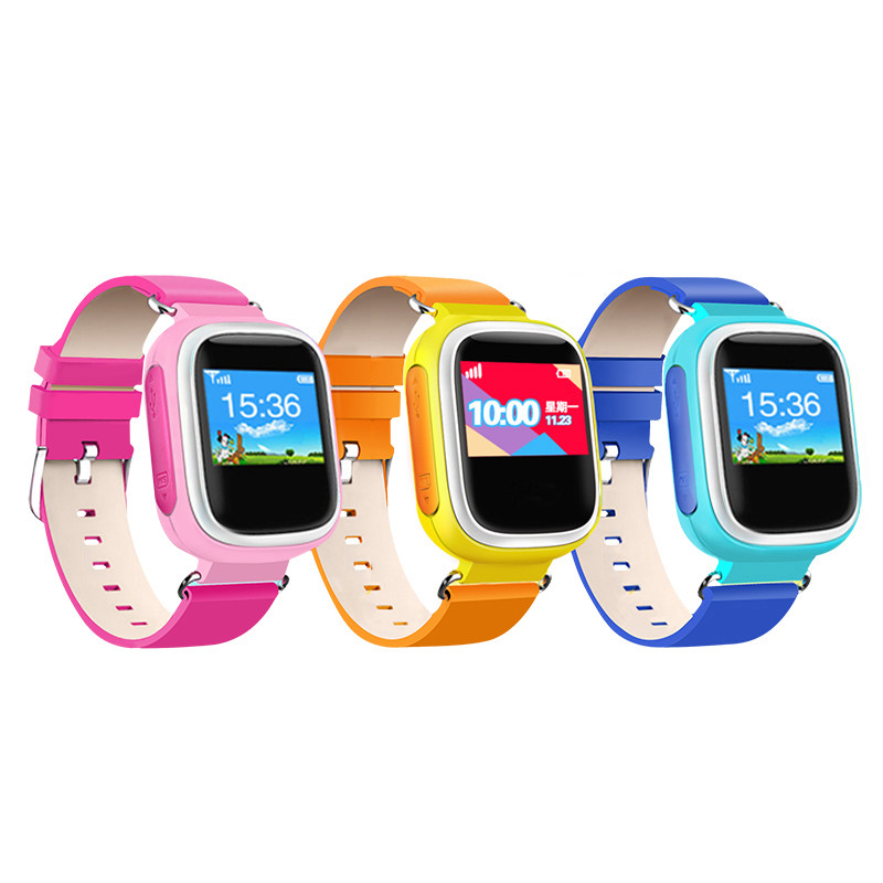 Q60 Kid GPS Smart Watch Wristwatch SOS Call Location Finder Locator Device Tracker for Kid Safe Anti Lost Monitor Baby Gift Q50