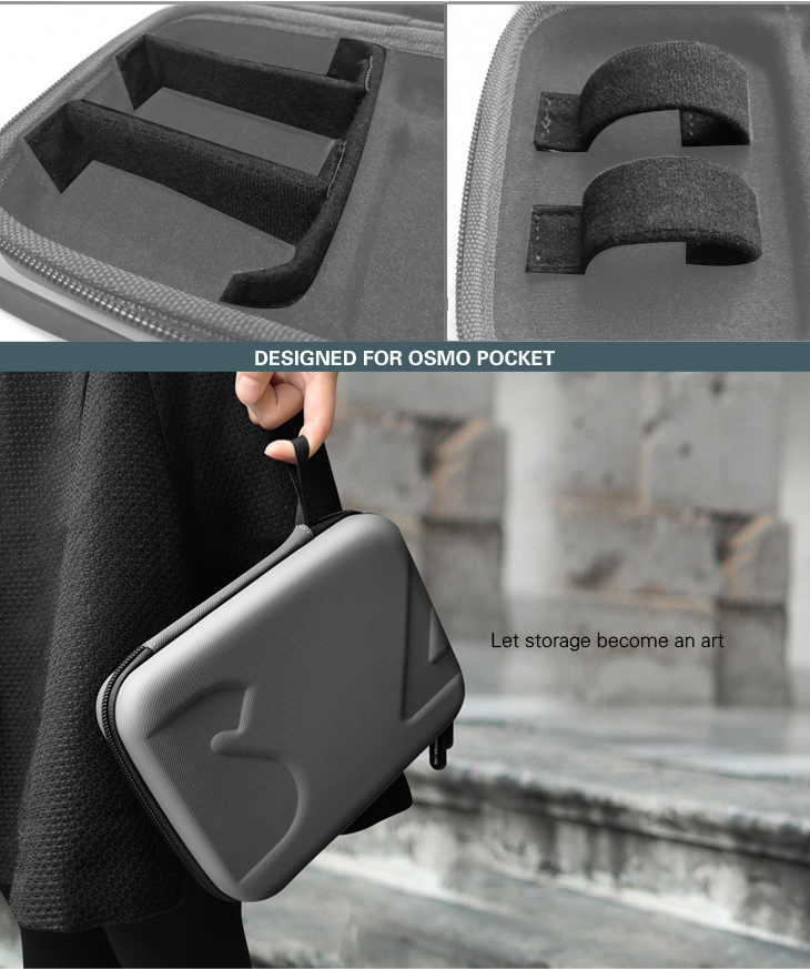 Sunnylife DJI Osmo Pocket Bag Handheld Gimbal Camera Stabilizer Box Carry Portable Case for DJI Osmo Pocket Gimbal Accessories 3