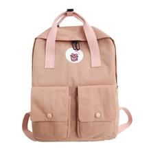 Купить с кэшбэком  Women School Backpack Casual Feminina Female Mochila for Teenage Girls Bagpack cartoon Backpacks girl Travel Bags Sac A Dos