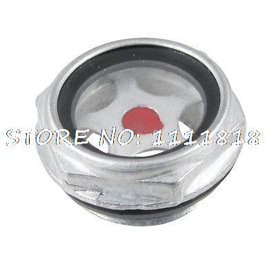 Air Compressor Fitting 26mm Threaded Oil Level Liquid Sight Glass