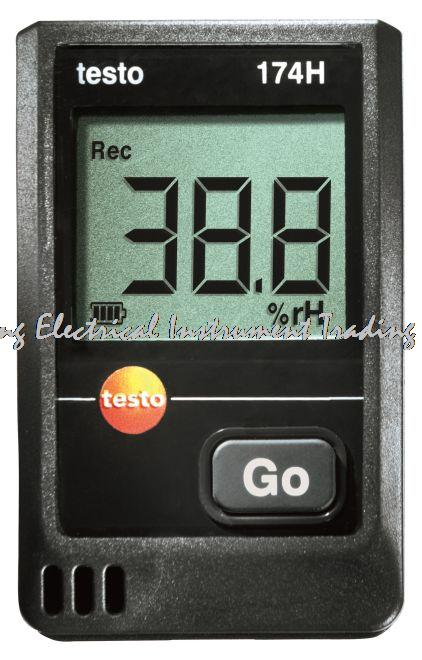 Fast arrival TESTO testo 174 H set Mini data logger for temperature and humidity in a set Memory for up to 16000