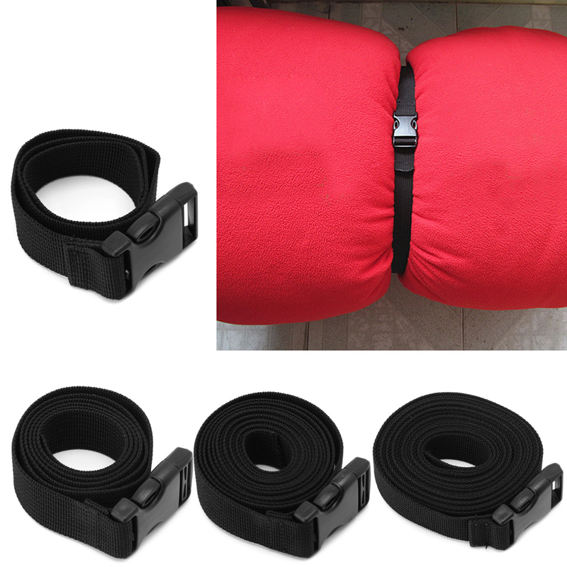 2.5*200cm Outdoor Travel Tied Rope Camping Equipment Backpack Luggage Sleeping Bag Long Lash Strap With Buckle