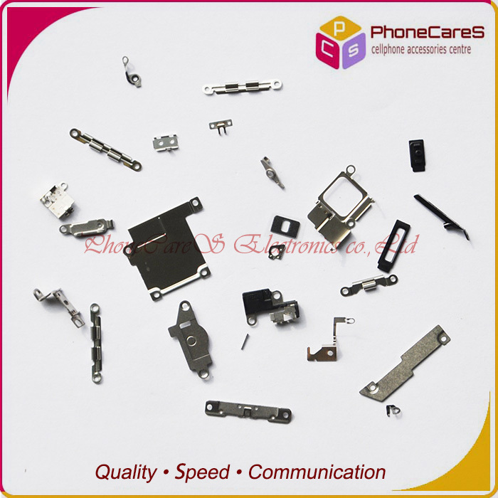 inner small parts set iphone 5S Metal Holder Bracket Shield Plate Kit flex,21, - PhoneCares Electronics co.,Ltd store