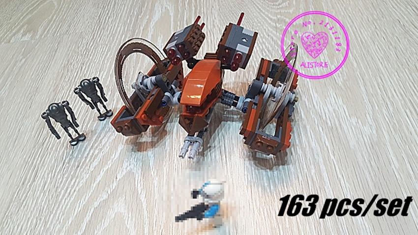 Клондардың жаңа шабуылы Hailfire Droid legoings - Дизайнерлер мен құрылыс ойыншықтары - фото 1