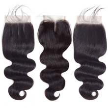 QueenLike Hair Products 2 3 Peruvian Body Wave Bundles With Closure Color 1B Non Remy Real Human Hair Bundles With Closure