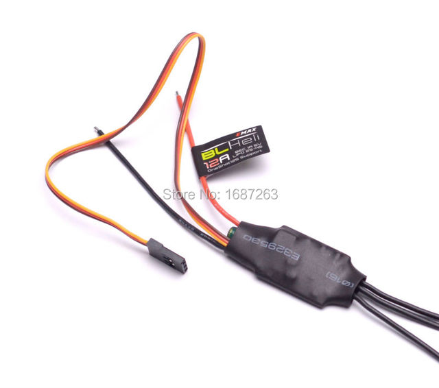 Emax BLHeli Series 12A BL ESC electronic Speed Controller w/ 1A 5V BEC for DIY FPV Drone mini QAV250 Quadcopter multicopter 4PCS