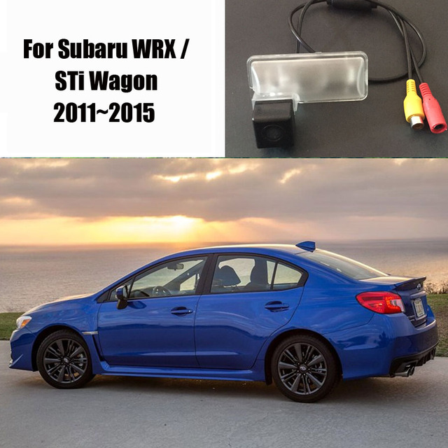 Rear View Camera Back Up Park Camera For Subaru Wrx Sti Wagon