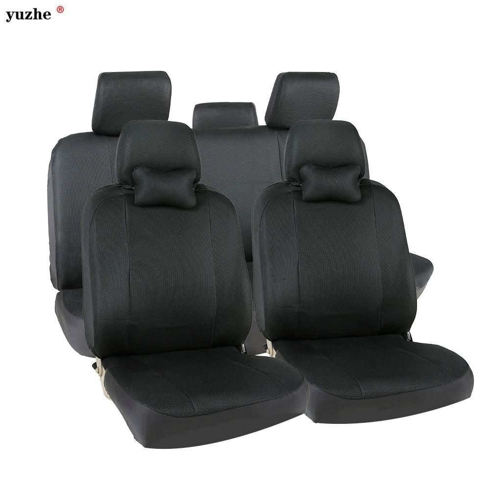 Yuzhe Universal car seat covers For Toyota Honda Nissan Mazda Lexus Jeep Subaru Mitsubishi Suzuki Kia Hyundai Ssangyong styling источник света для авто eco fri led 6pcs 31 t10 w5w honda acura isuzu hyundai kia lexus mazda