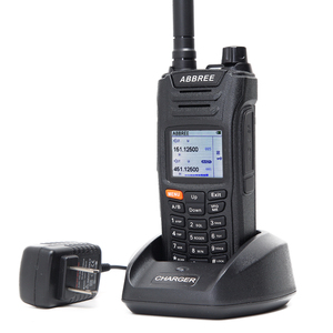 Image 3 - ABBREE AR F6 6 Bands Walkie Talkie Dual Display 999CH VOX DTMF SOS Scanning Stopwatch Functional LCD Color Display + USB Cable