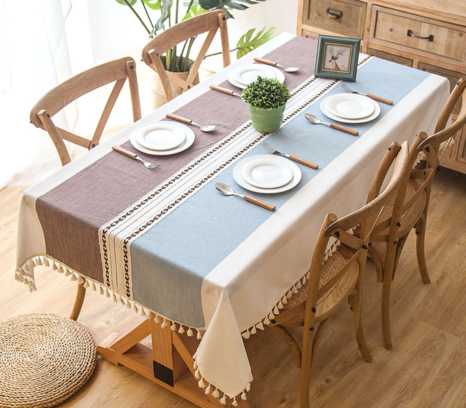 Modern Decorative Table Cloth Tel