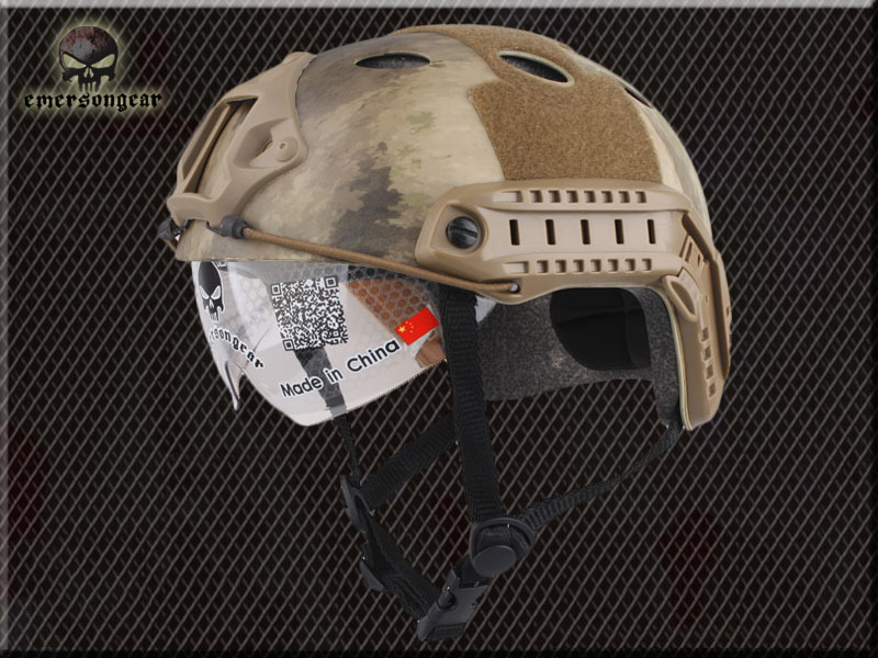 Emerson Airsoft Masks Base Jump Fast Helmet A TACS Protective Goggle PJ Type army of helmet