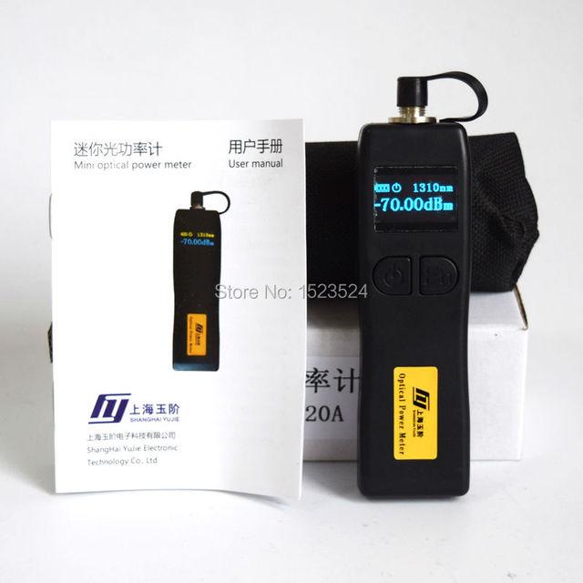 YJ-320A-70 ~ + $ number dbm Handheld Mini Medidor de Potencia Óptica
