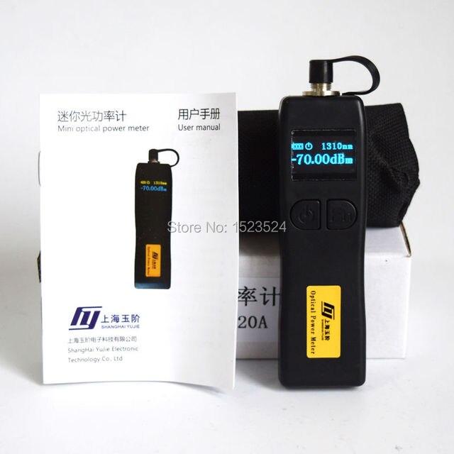 YJ 320A  70 meter + 6dbm YJ 320C  50 ~ + 26dbm handheld mini medidor de potência óptica