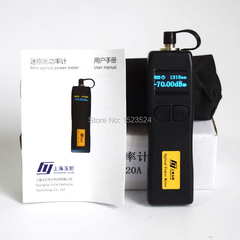 YJ-320A-70 + 6dBm Mini medidor de potencia óptico de mano