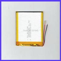 The New Battery 5000mAH Li Ion Tablet Pc Battery For 7 8 9 Inch Tablet PC