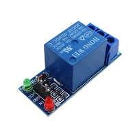 50 個 1 チャンネル 5V12V24V 低レベルリレーモジュール無料配信のための SCM 家電制御
