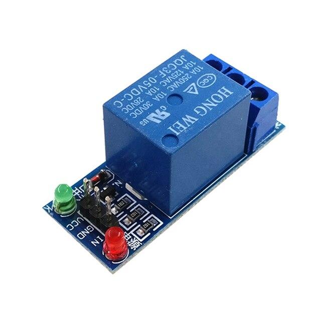50PCS 5V/12V/24V a basso livello di trigger One 1 Canale Modulo di Relè Scheda di interfaccia scudo Per Il PIC AVR DSP MCU per Arduino