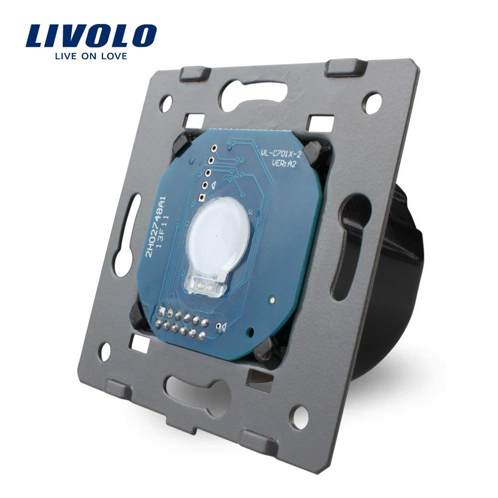 Free Shipping Livolo Manufacturer EU Standard The Base of Touch Screen Wall font b Light b