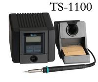 Быстрый TS1100 умный leadfree паяльная станция 90 Вт термостатический Регулируемый Электрический паяльник припой