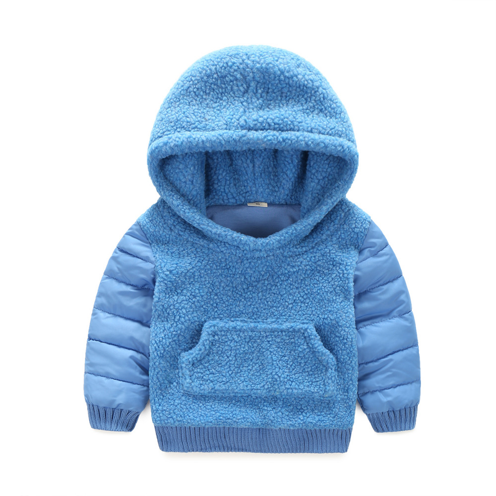 Children Outerwear Coats Boys Lamb fur Coat Thick Warm Kids Jacket Vest 2 Pieces Set Winter