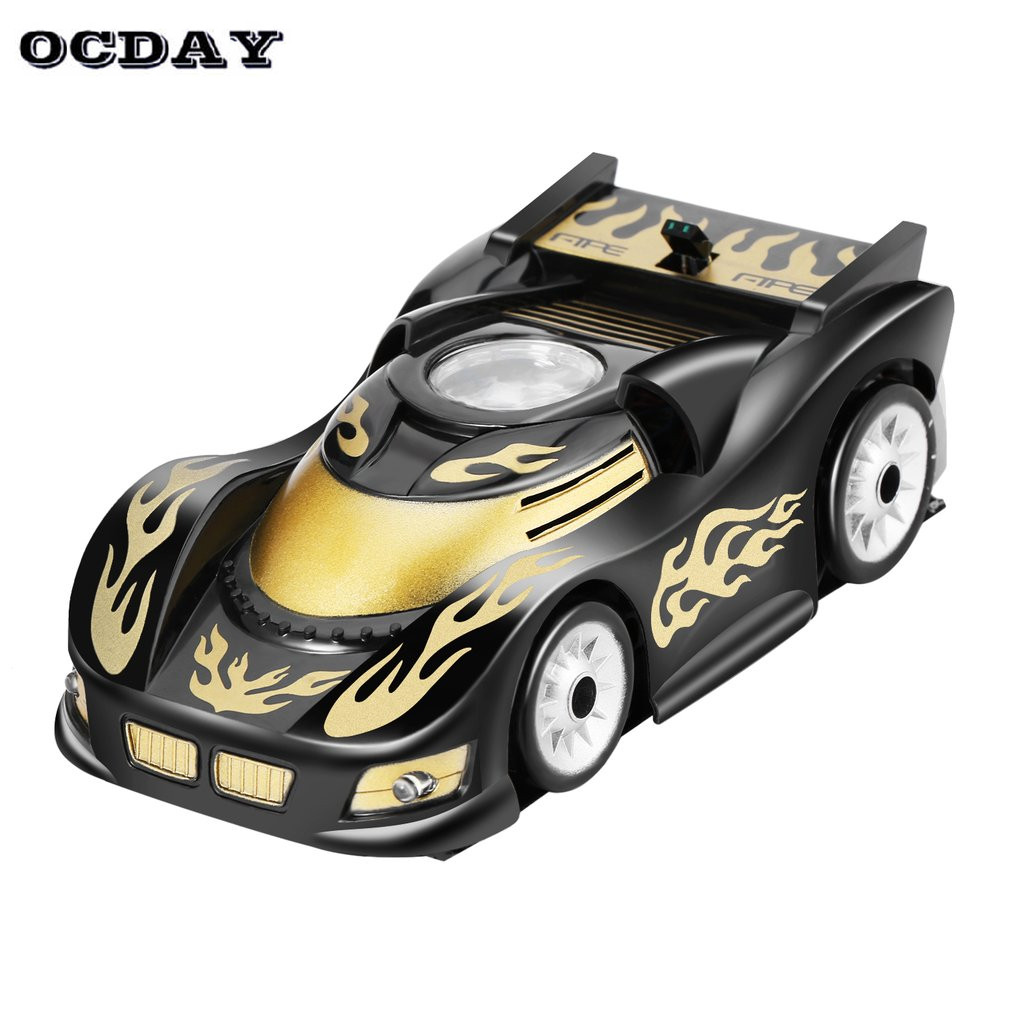 Wall Climbing Racing Ceiling Glass coche RC Car Zero Gravity Magic Wall Floor Climber Racer Remote Control crawler Toy For Boys