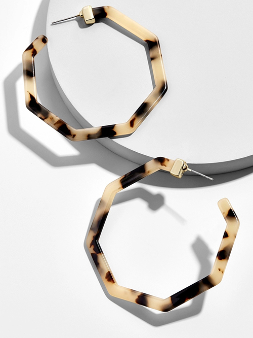 Женские леопардовые фигурные серьги ZA, висячие серьги черепаховой расцветки из акрилацетата, украшения для вечеринок - Окраска металла: 103881