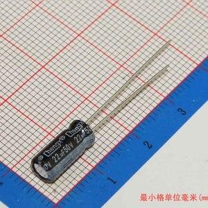 Image 5 - MCIGICM 1000 stücke aluminium elektrolyt kondensator 22uF 50V 5*11 elektrolytkondensator