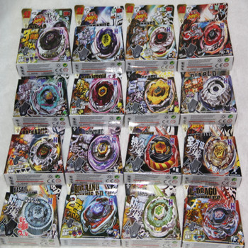 Best Birthday Gift 16pcs different style 4D Beyblade Metal Fusion Hot Sales Beyblade Beyblade Spin Top