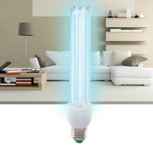 УФ-озоновые кварцевые лампы, 25 Вт, ультрафиолетовые бактерицидные лампы, УФ-лампа для дома E27, ультрафиолетовые лампы для терилизации, медиц...