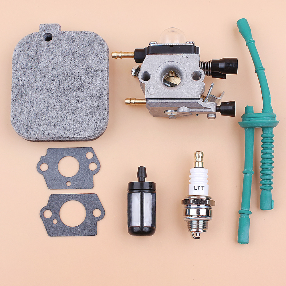 Carburetor Gasket Air Filter Fuel Hose Filter Kit For STIHL BG45 BG46 BG55 BG65 BG85 BR45C SH55 SH85 Leaf Blowers 42291200606