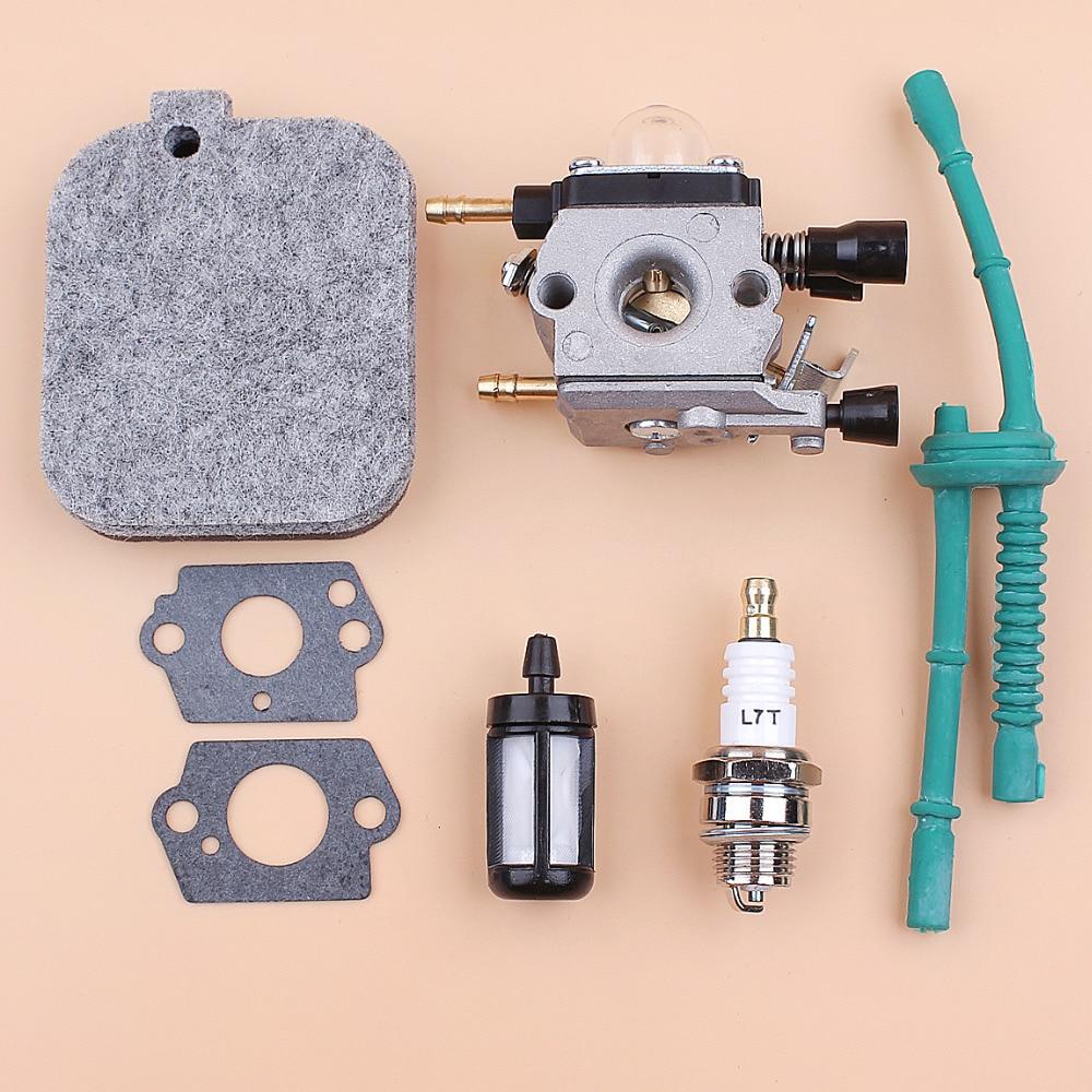 Carburetor Gasket Air Filter Fuel Hose Filter Kit For STIHL BG45 BG46 BG55 BG65 BG85 BR45C SH55 SH85 Leaf Blowers 42291200606