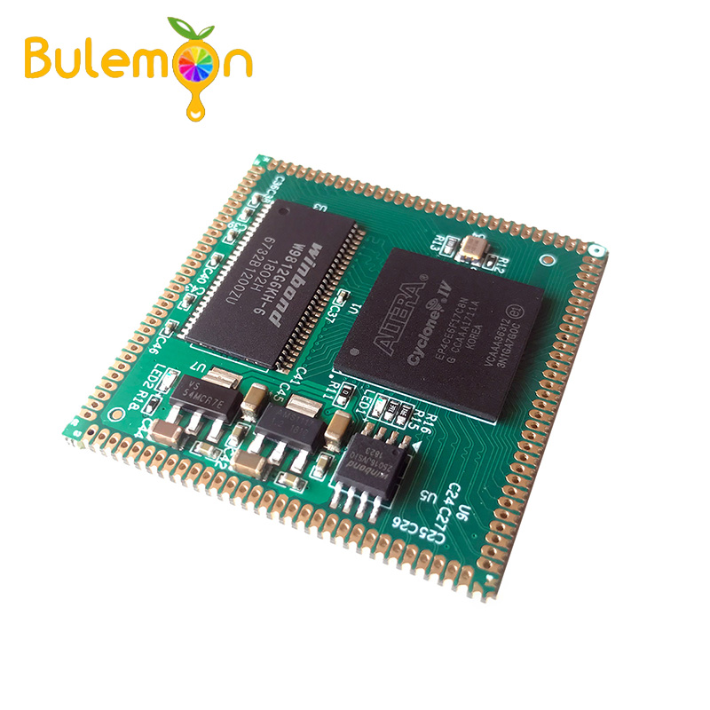 AC608 FPGA Core Board EP4CE22/EP4CE15/EP4CE10 Stamp Hole Fully Compatible
