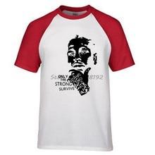 b6018e120 Player Allen Iverson Portrait men t shirt new summer 100% cotton high  quality raglan tee for fans hip hop style male tees