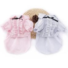 Vasaras mazie kaķi Apģērbi T krekli Krāsains pavasaris lēti cute modes suņi apģērbi mājdzīvniekiem Kaķu kostīms kleren kedi giysileri