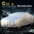 Cubierta Del Coche Auto Sol Al Aire Libre de la Nieve Lluvia de Polvo Resistente A Los Arañazos Impermeable Para Mercedes Benz Clase C C260 C280 C300 C320 C350